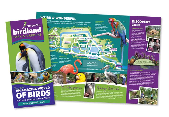 birdland-leaflet Birdland Park & Gardens Leaflet